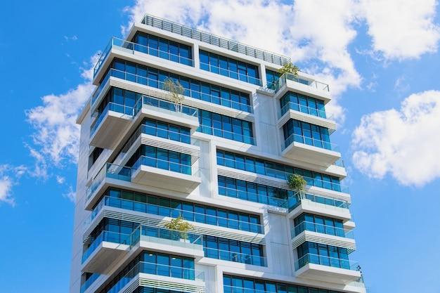 Woningbouw in berlijn, duitsland Premium Foto