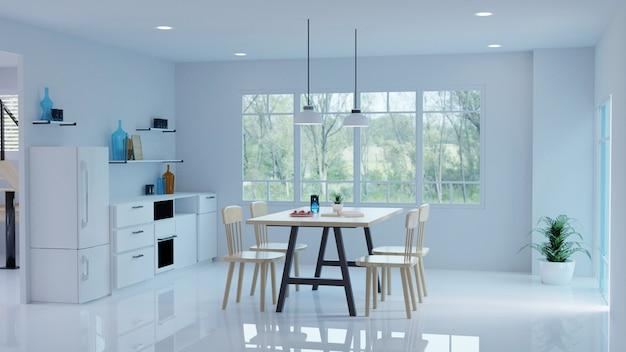 3d Woonkamer Ontwerpen : Woonkamer interieur moderne stijl interieur ontwerp d weergave