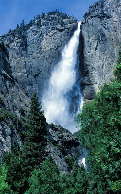 Yosemite falls; yosemite nationaal park Gratis Foto