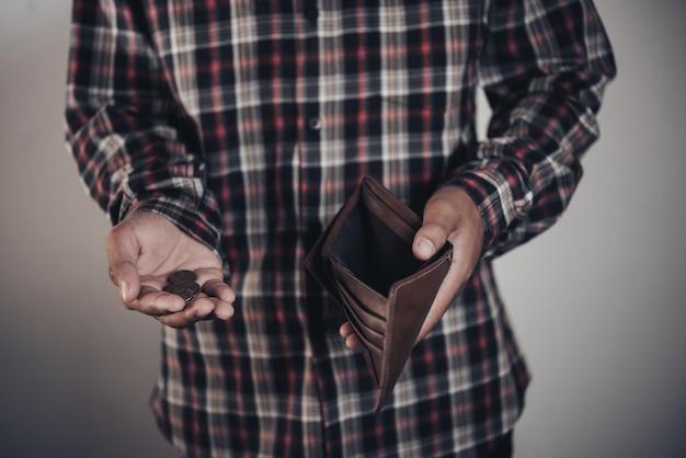 Zakenman geld te besparen Gratis Foto