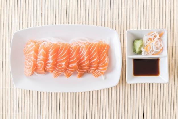 Zalm ruwe sashimi Gratis Foto