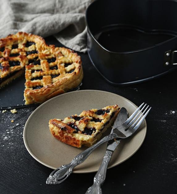 Zelfgemaakte taart Gratis Foto