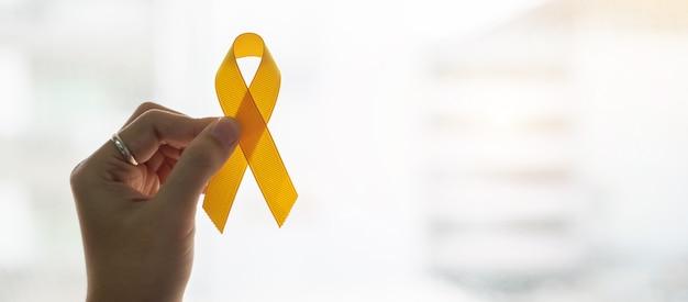Zelfmoordpreventie en bewustheid van kanker bij kinderen Premium Foto