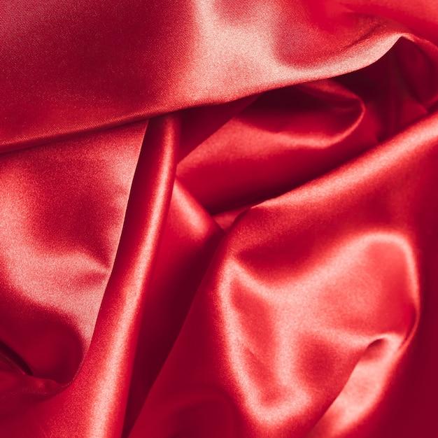 Zijden stof rood materiaal voor huisdecoratie Premium Foto