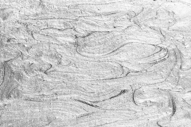 Zilver geverfd getextureerde muur achtergrond Gratis Foto
