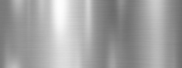 Zilveren van de metaaltextuur ontwerp als achtergrond Premium Foto