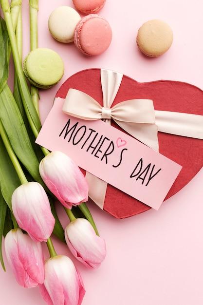 Zoete verrassing voor moederdag Gratis Foto