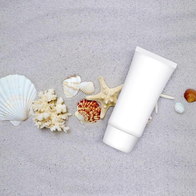 Zonblok voor bescherming tegen de zomerzon Premium Foto