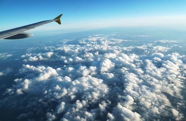 Kleurplaten Zonsondergang.Zonsondergang Wolk Vleugel Wolken Vliegtuigen Foto Gratis Download