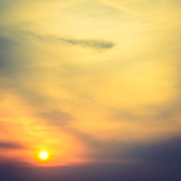 Zonsopgang op hemel Gratis Foto