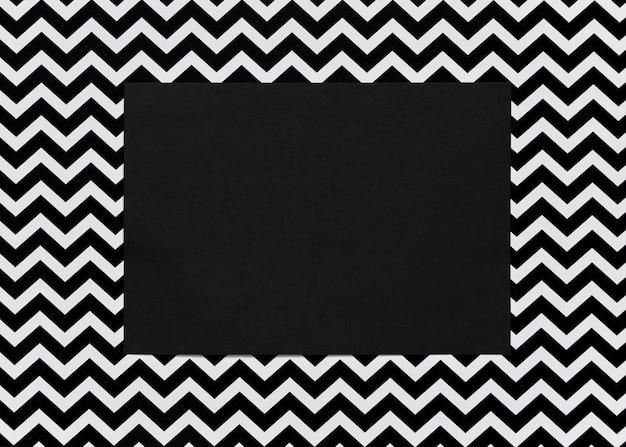 Zwart karton met abstract frame Gratis Foto