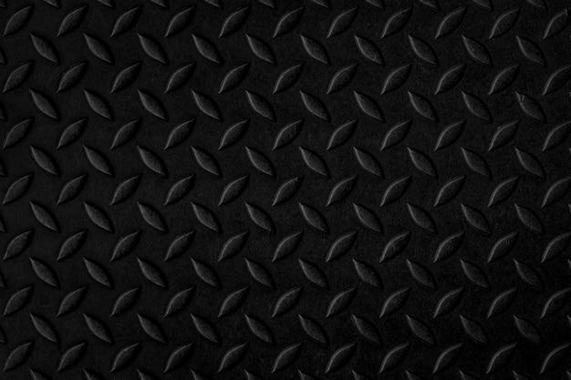 Zwart stalen diamant ruimtetextuur Premium Foto