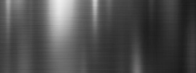 Zwart van de metaaltextuur ontwerp als achtergrond Premium Foto