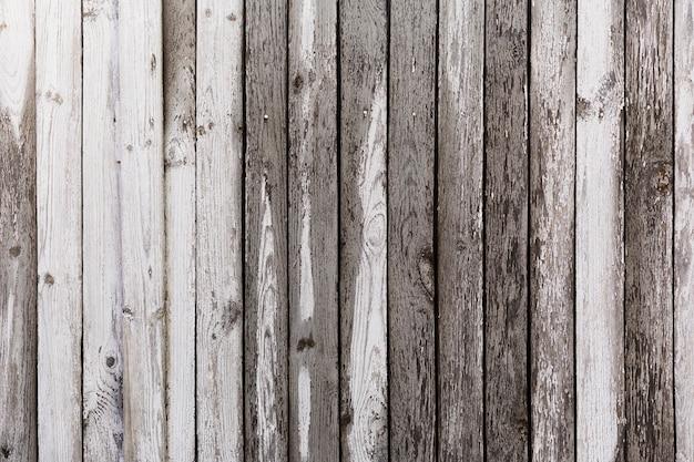 Zwart-witte houten achtergrond Gratis Foto