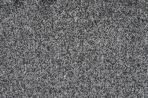 Zwart-witte wolstof voor achtergrond. heather achtergrond patroon afbeelding Premium Foto