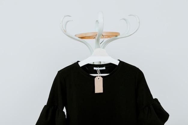 Zwarte blouse Gratis Foto