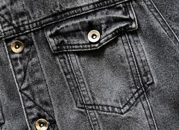 Zwarte spijkerbroek Premium Foto