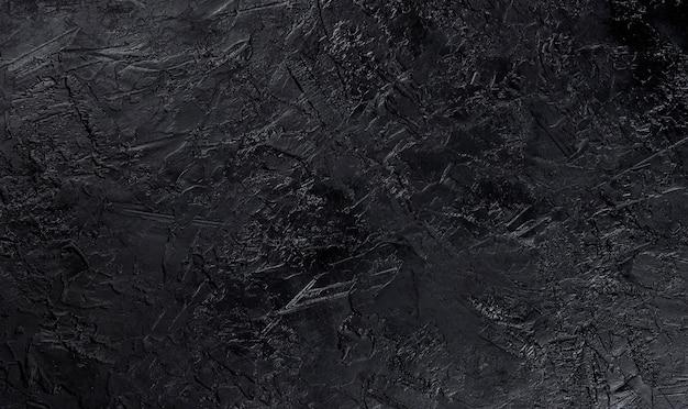 Zwarte steen textuur, bovenaanzicht Gratis Foto