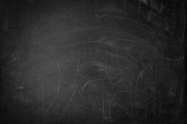 Zwarte vuile bordtextuur met krassen, exemplaarruimte Premium Foto
