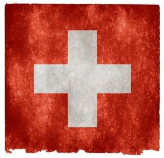 Zwitserland grunge vlag Gratis Foto