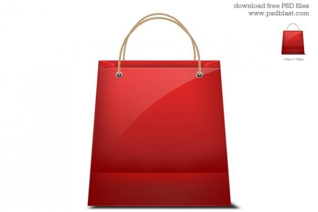 shopping bag icon Gratis Psd