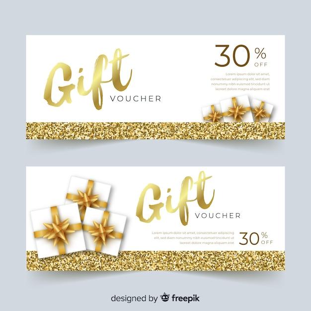 30% cadeaubon Gratis Vector