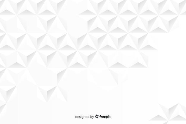 3d papier effect achtergrond Gratis Vector
