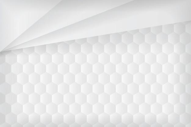 3d-papier stijl achtergrond. Premium Vector