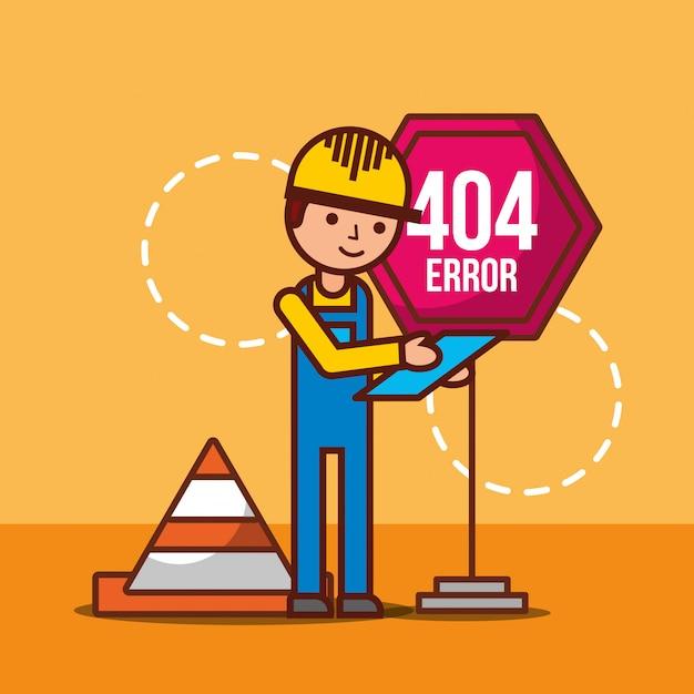 404-foutpagina niet gevonden Gratis Vector