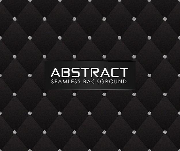 Abstract bankpatroon met document texturen veelhoekig patroon met diamanten Premium Vector