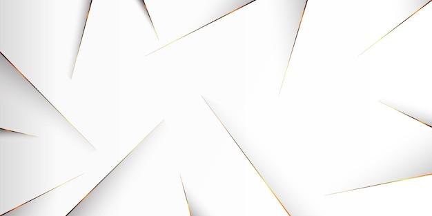 Abstract concept gouden lijn achtergrond Gratis Vector