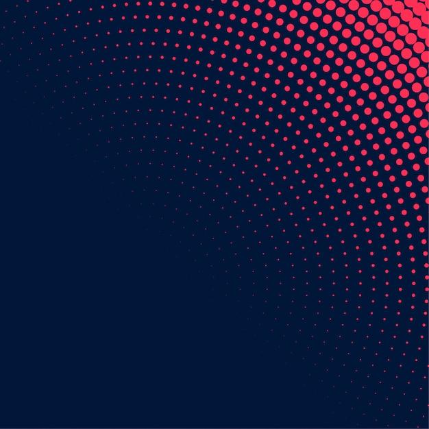 Abstract donker halftone ontwerp als achtergrond Gratis Vector