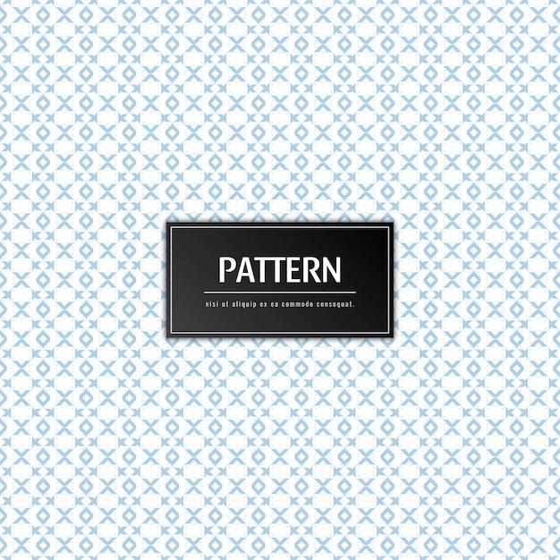 Abstract elegant patroon Gratis Vector