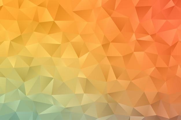 Abstract geometrisch behang als achtergrond. kleurrijke veelhoek zeshoek premium vector Premium Vector