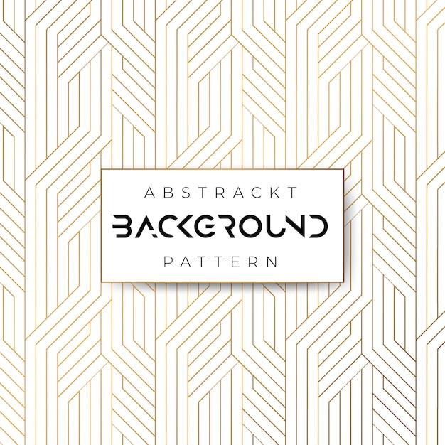 Abstract geometrisch patroon Premium Vector