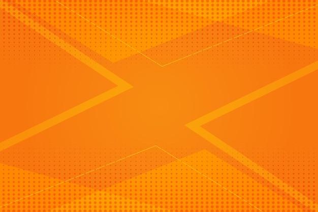 Abstract halftone concept als achtergrond Premium Vector