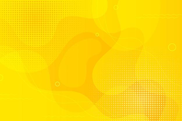 Abstract halftone thema als achtergrond Gratis Vector