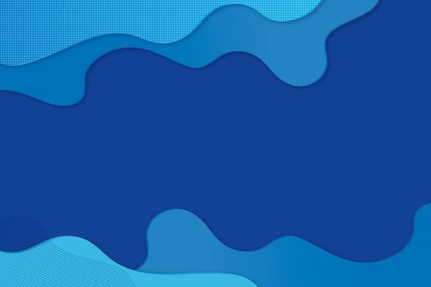 Abstract klassiek blauw concept als achtergrond Gratis Vector