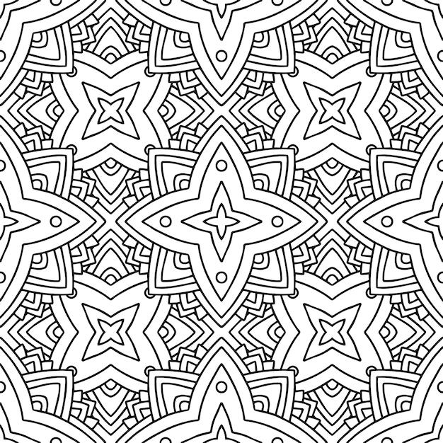 Abstract kleurloos patroon Premium Vector