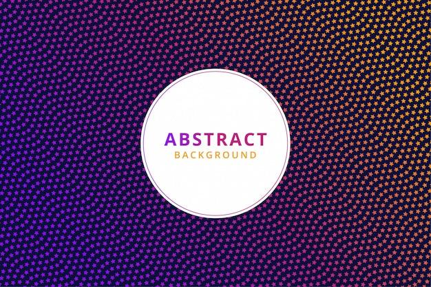 Abstract kleurrijk behang als achtergrond. moderne start halftoon. vector patroon Premium Vector