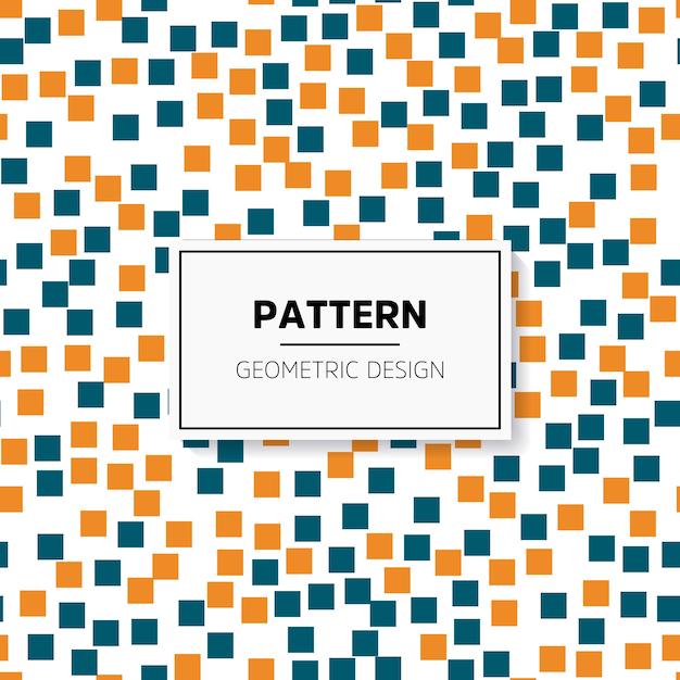 Abstract kleurrijk mozaïek. naadloos patroon Gratis Vector