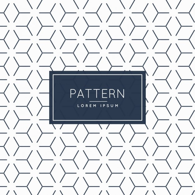 abstract minimal patroon achtergrond Gratis Vector