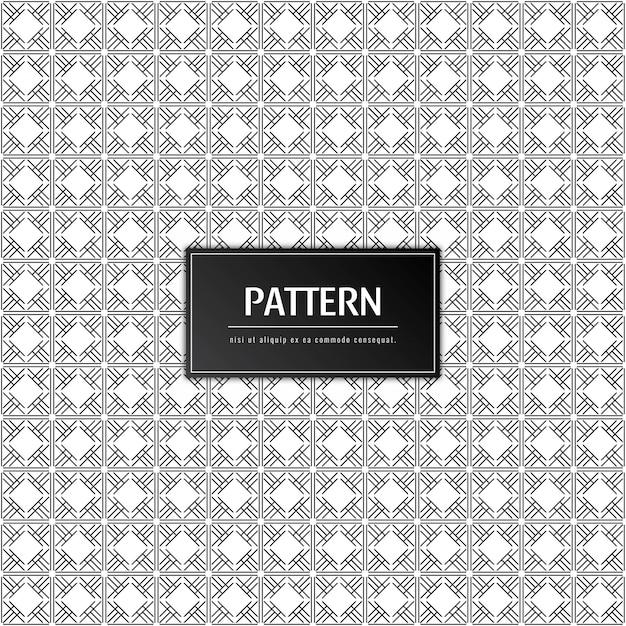 Abstract modern patroon Gratis Vector