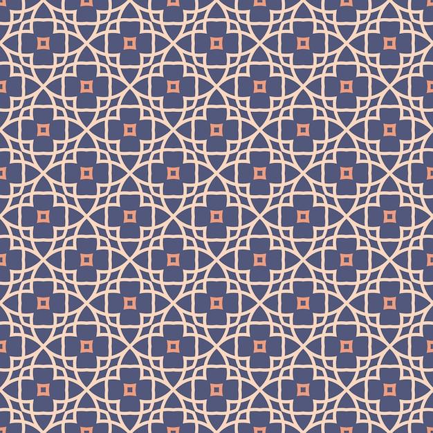 Abstract naadloos patroon Premium Vector