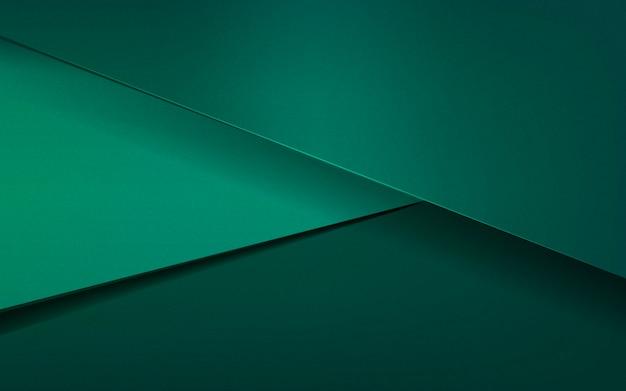 Abstract ontwerp als achtergrond in smaragdgroen Gratis Vector