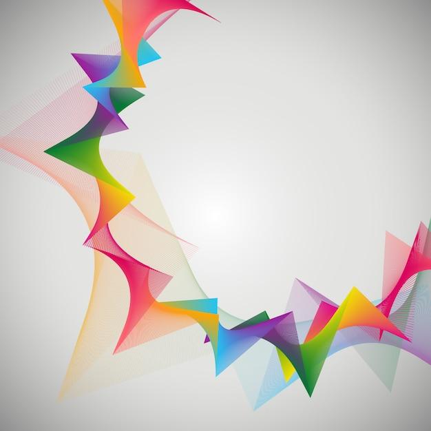 Abstract ontwerp als achtergrond Gratis Vector