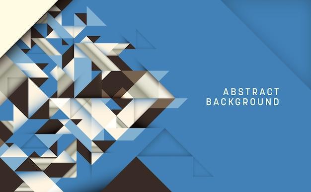 Abstract ontwerp als achtergrond Premium Vector