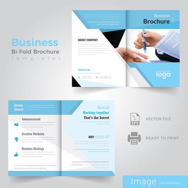 Abstract ontwerp van de brochure Premium Vector