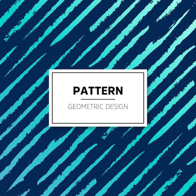 Abstract patroon naadloze vector achtergrond blauwe textuur grafisch modern patroon Gratis Vector