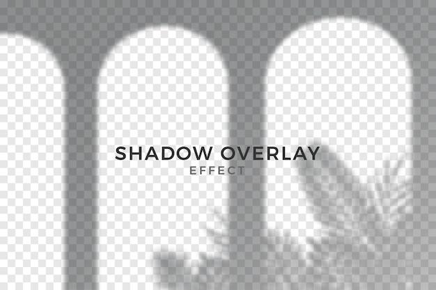 Abstract transparant schaduwen-overlay-effect Gratis Vector